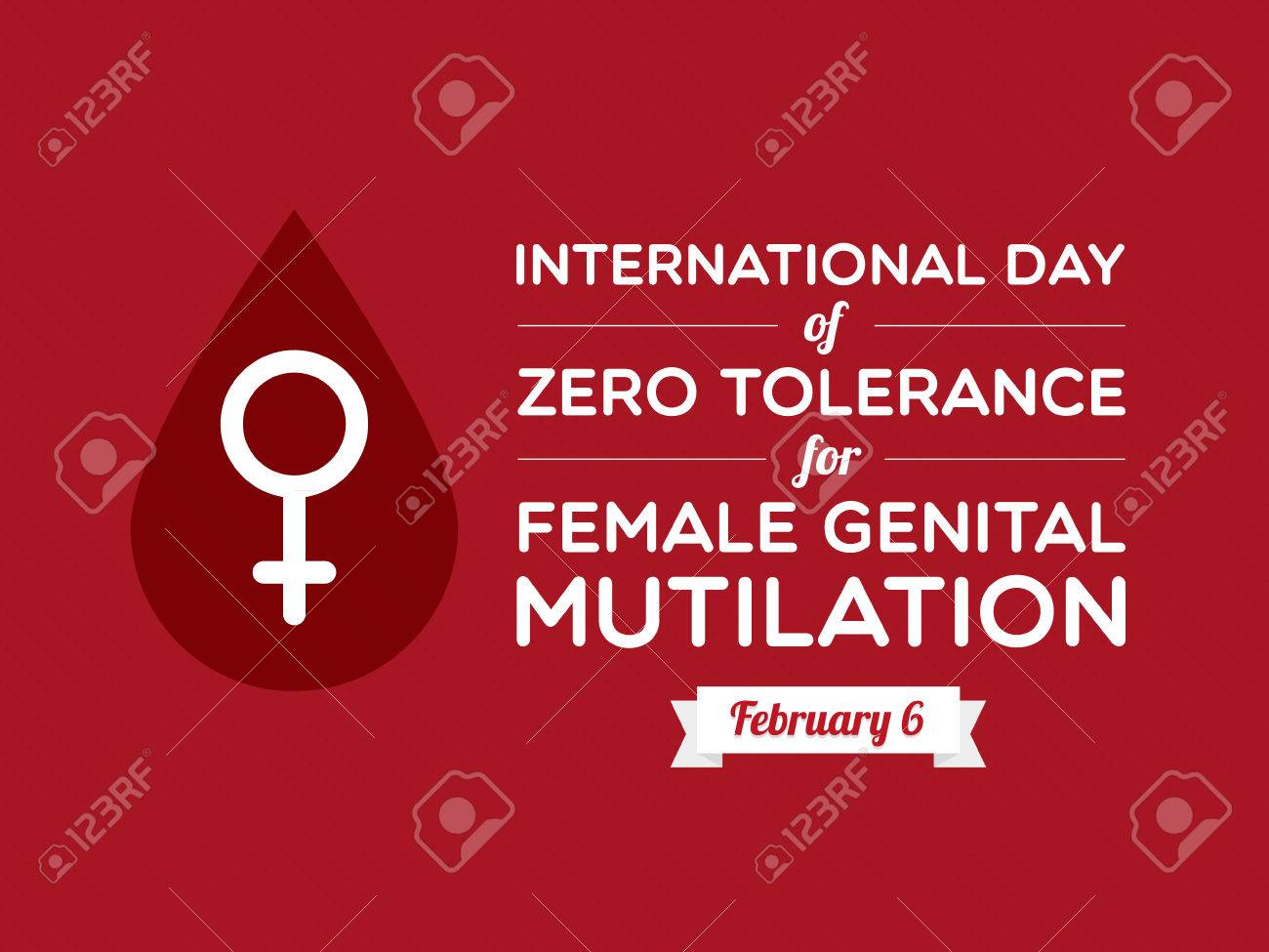 International Day of Zero Tolerance for Female Genital Mutilation - 25250394