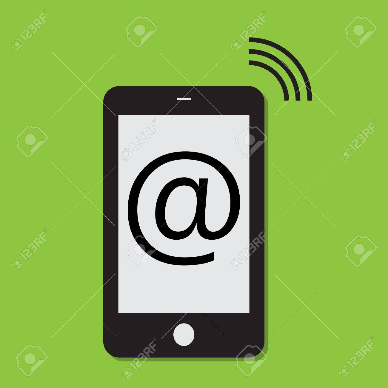 Mobile phone internet connection Stock Vector - 11237747