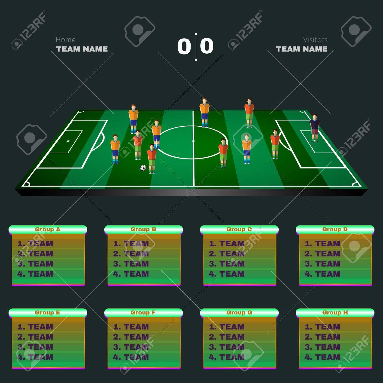 Fussball Spielplatz Spiel Statistiken Sportgruppen Und Teams