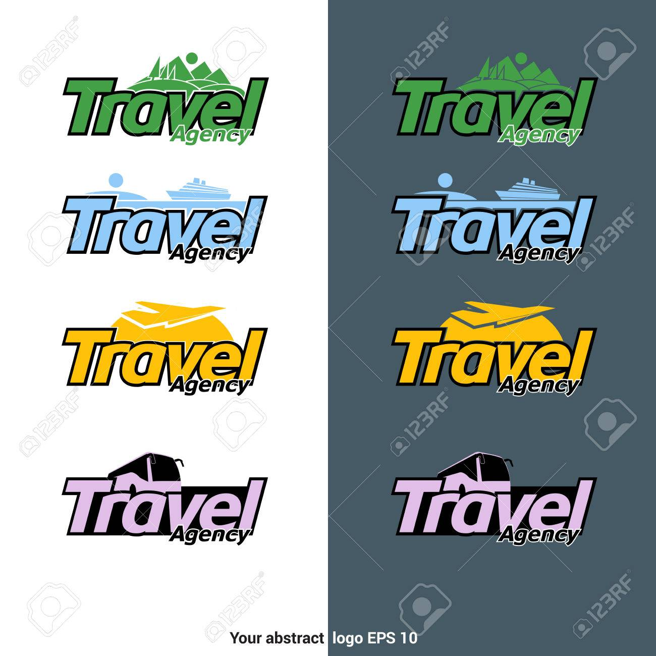 Travel Agency Business Cards Stock Photos. Royalty Free Travel ...