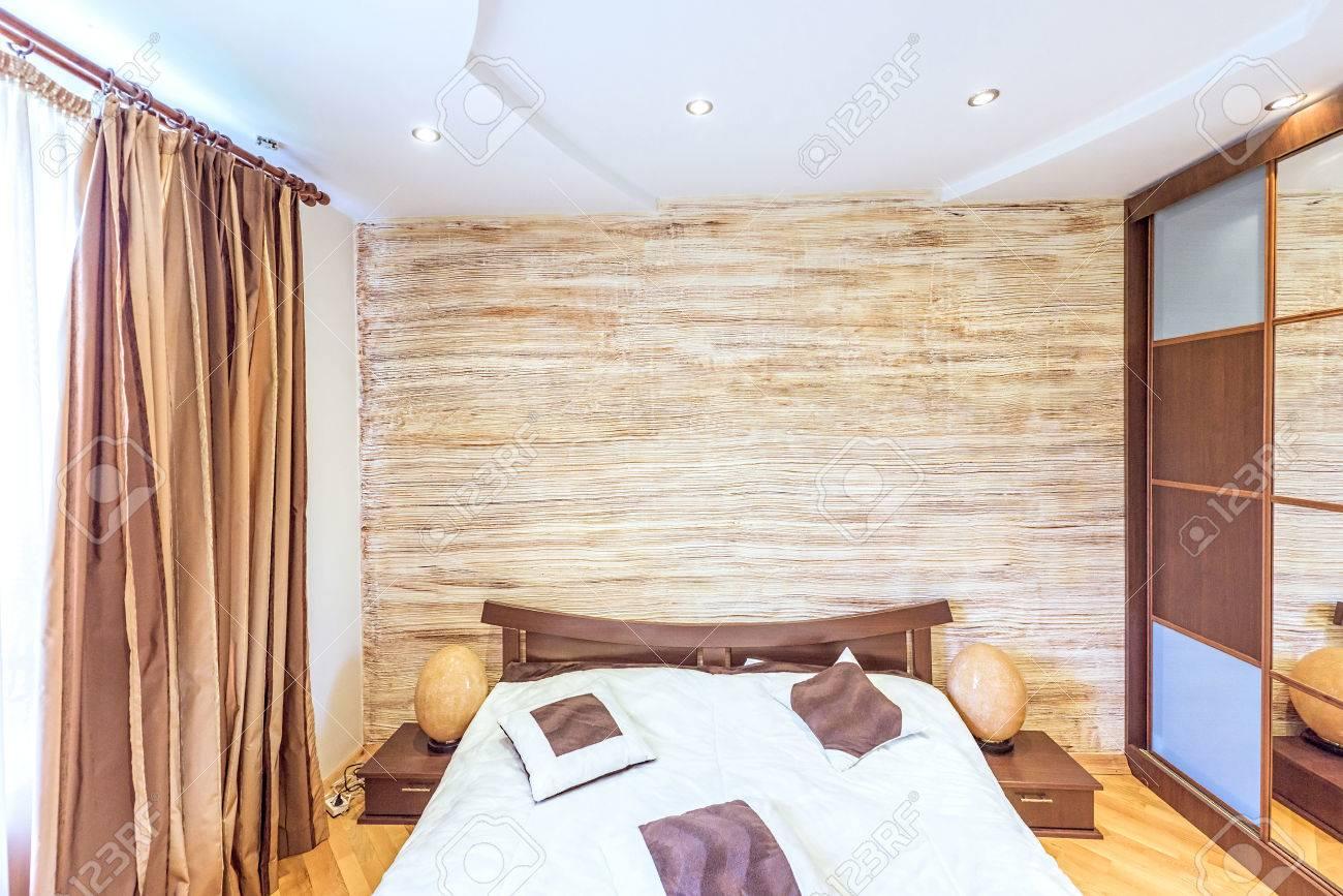Banque Du0027images   Blanc Design Du0027intérieur De Chambre à Coucher Moderne  Style Japonais Oriental Oriental à Chisinau, District De Buiucani, Moldavie