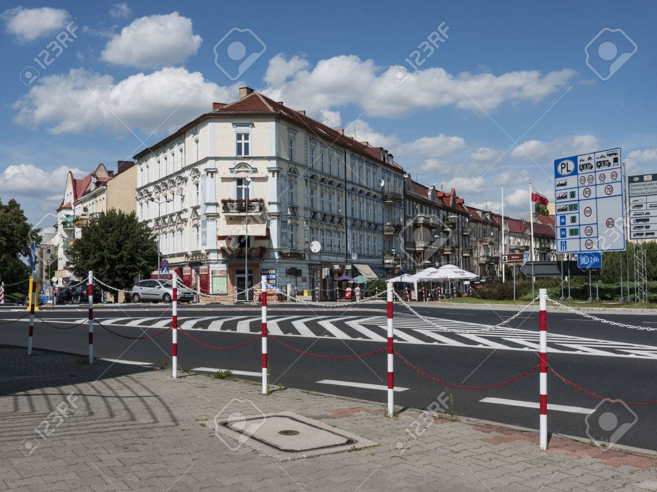 Slubice is a town in western Poland on border to Germany  By