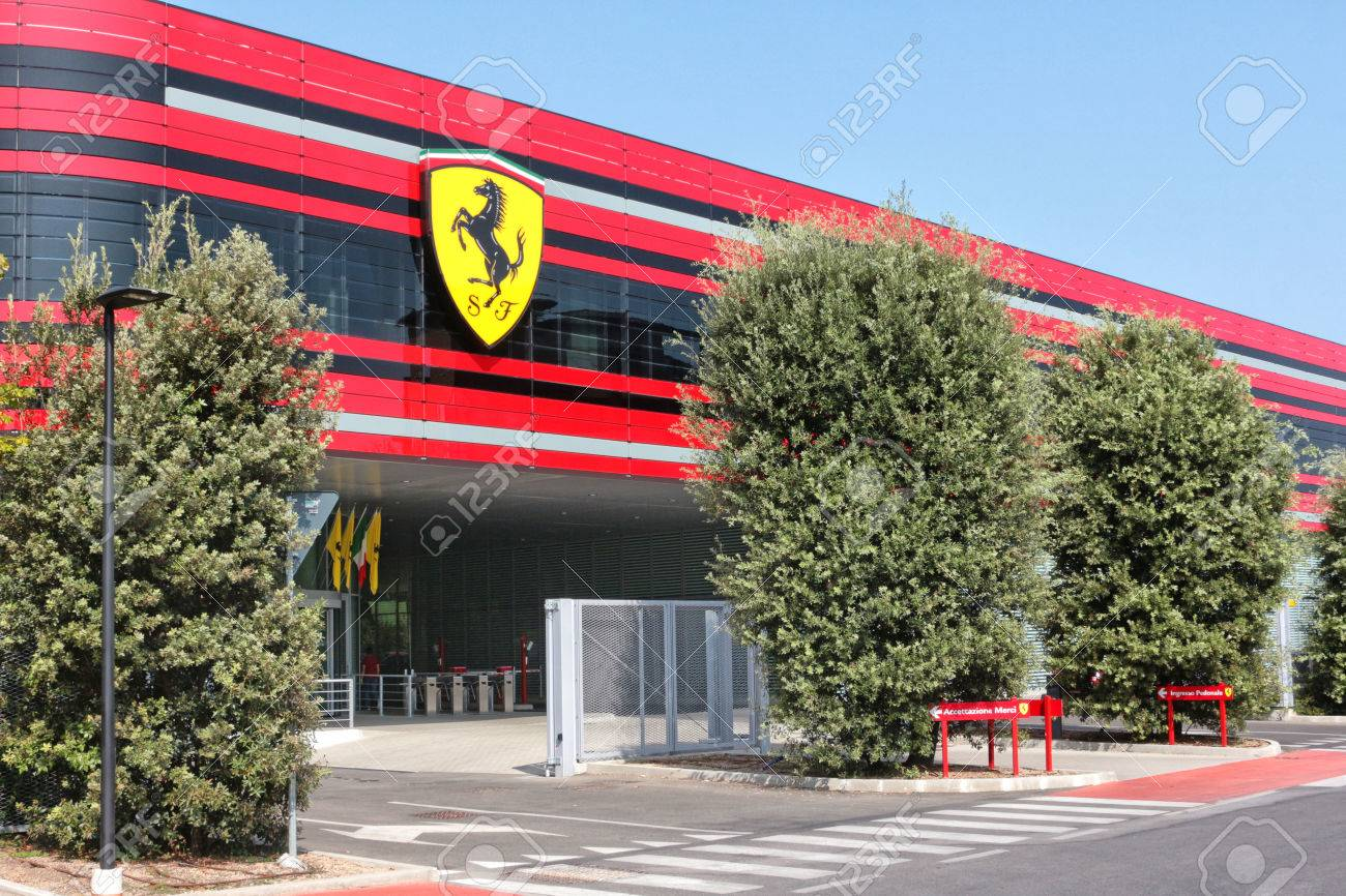 Ferrari factory italy