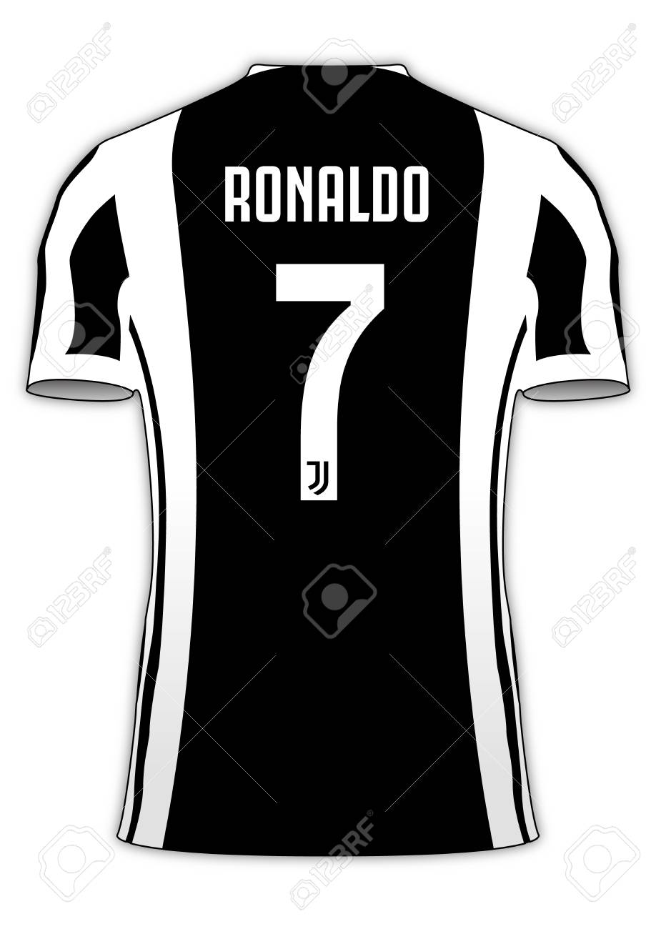 separation shoes ae1e8 f12bb Cristiano Ronaldo footbal jersey number 7, Juventus