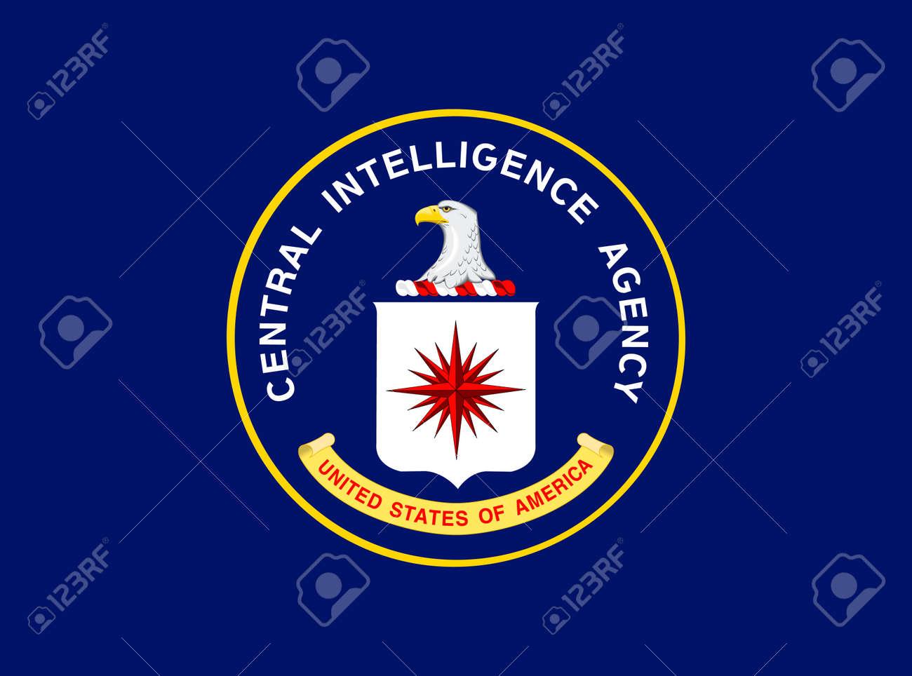 US Central Intelligence Agency flag, United States of America, vector illustration - 172886207