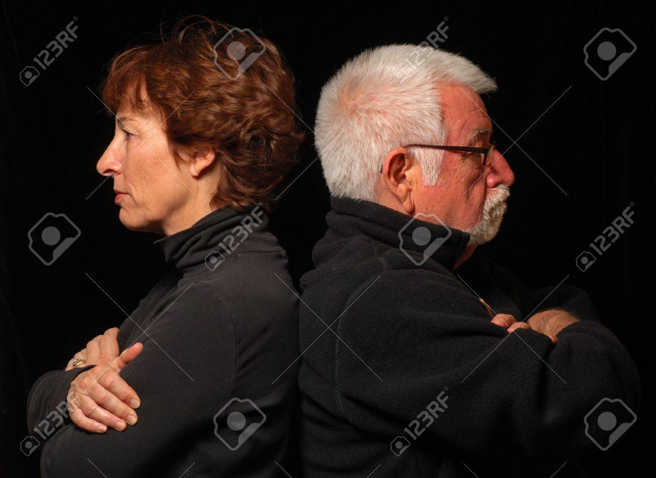 Couple at an impasse Stock Photo - 378368