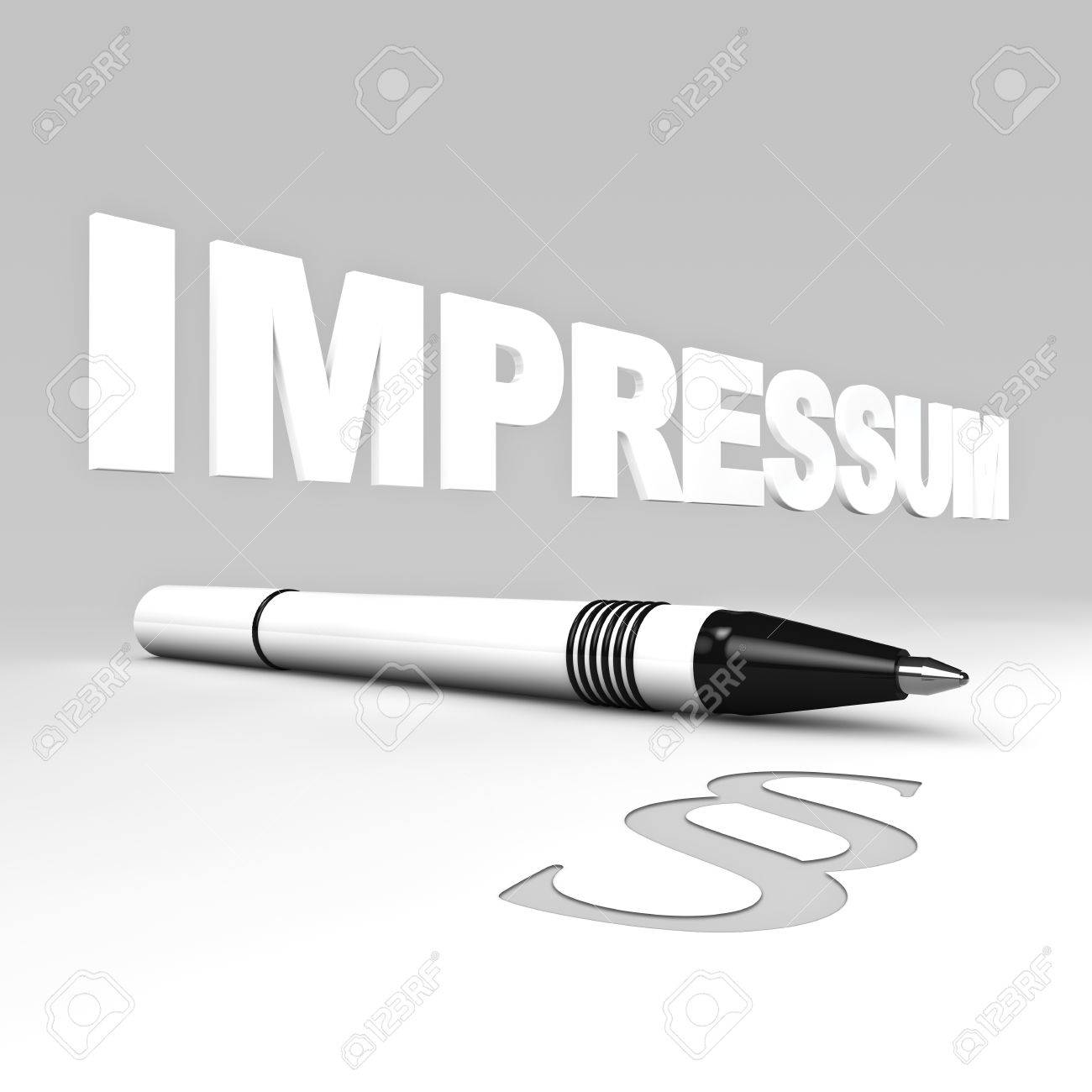 Rendering of a impressum text with ball pen and paragraph symbol rendering of a impressum text with ball pen and paragraph symbol stock photo 14319262 biocorpaavc Choice Image
