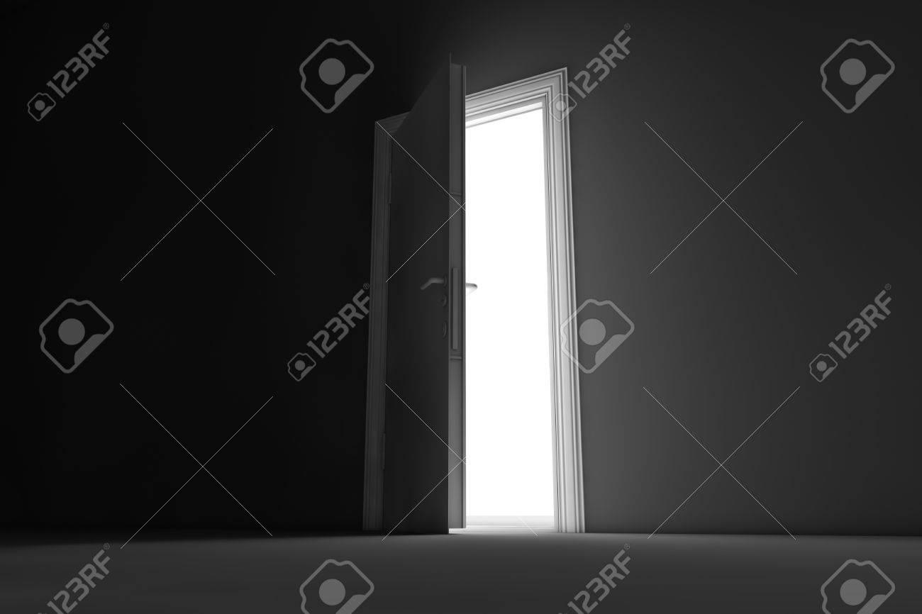 Open Door Dark Room T