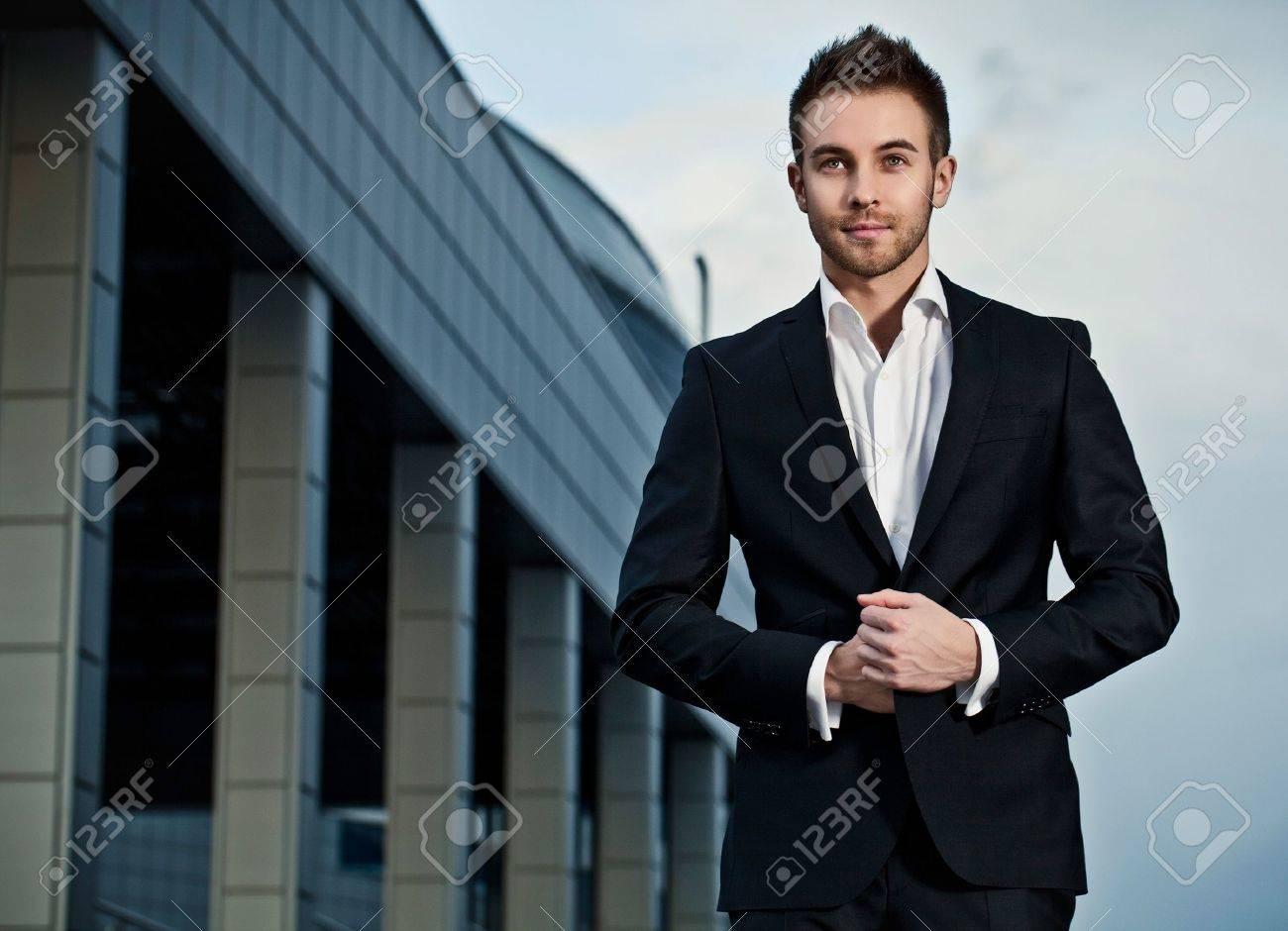 young businessman  fashion