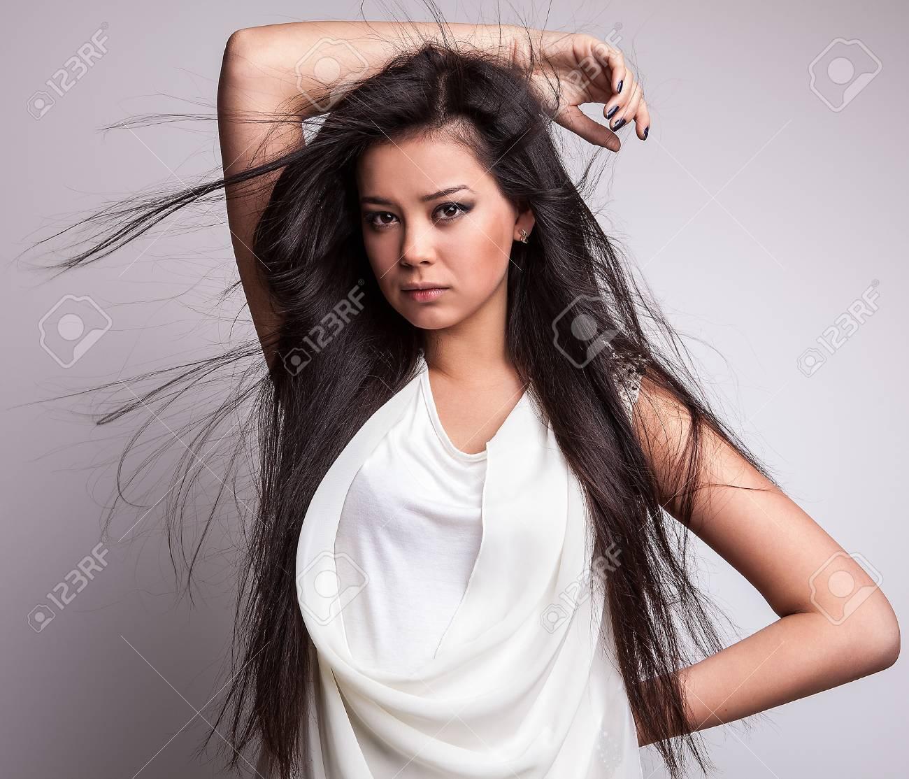 Chineese woman masturbates