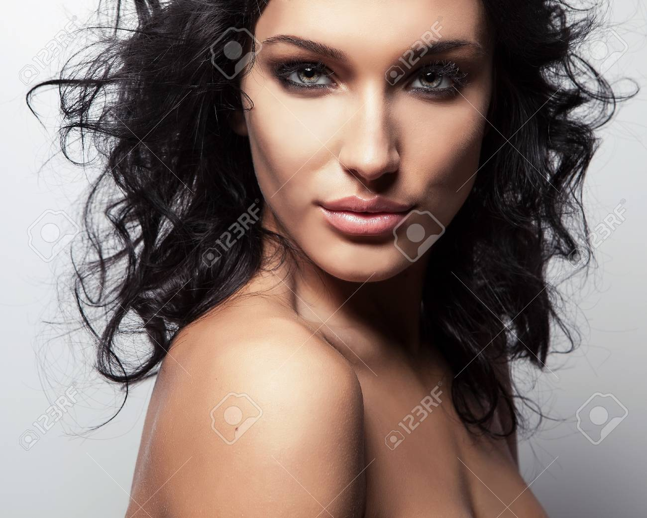 Portrait of a young beauty  Close-up Photo Stock Photo - 16958225