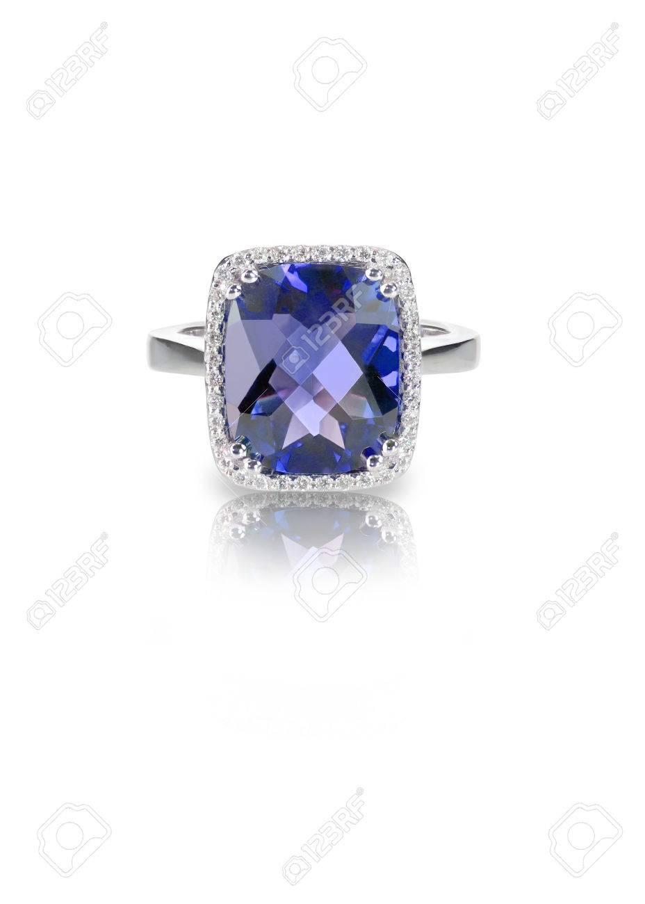 Schone Saphir Und Diamant Hochzeit Verlobungsring Edelsteinzentrum