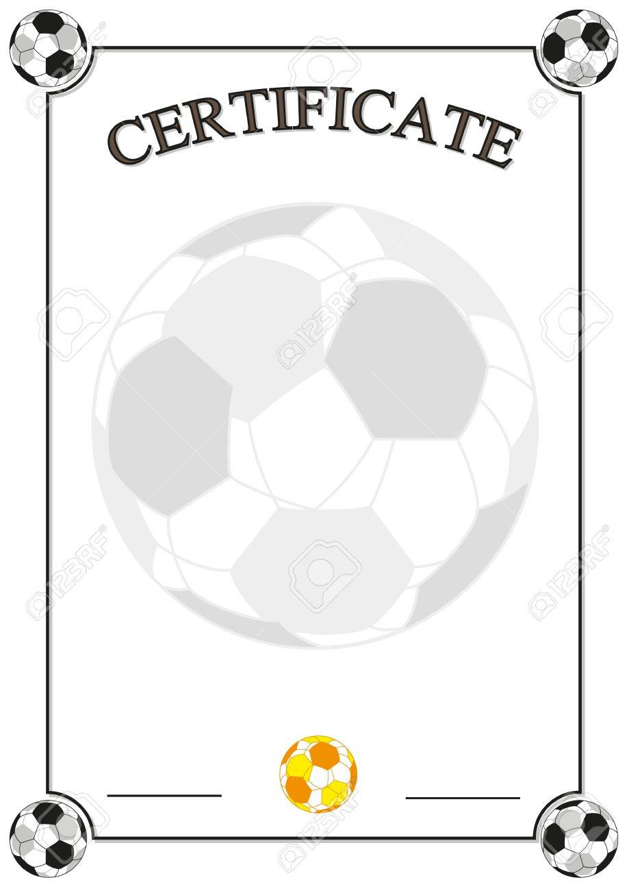 Football certificate royalty free cliparts vectors and stock football certificate stock vector 17569842 1betcityfo Choice Image