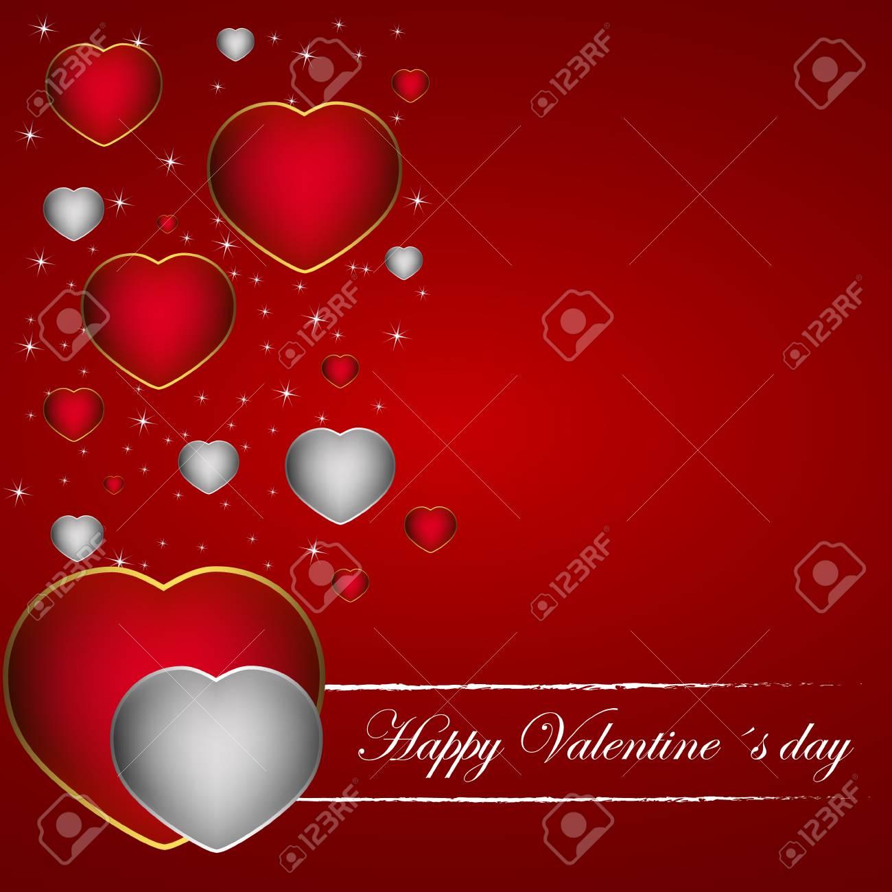 Valentinstag Wallpaper Lizenzfrei Nutzbare Vektorgrafiken Clip Arts