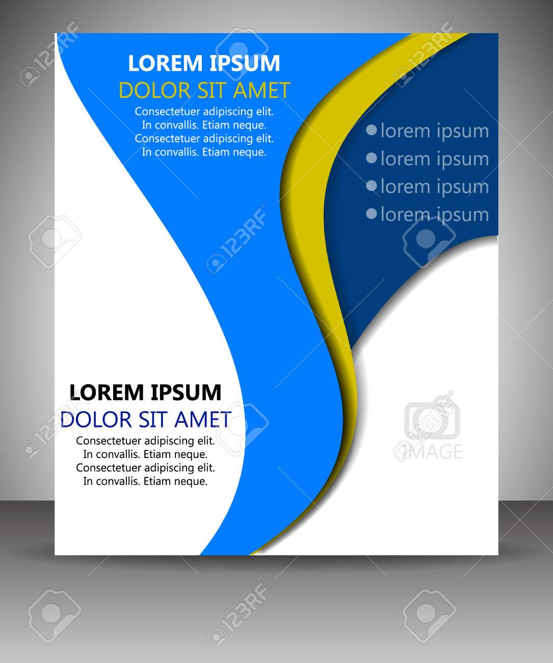 professional business flyer template or corporate banner royalty professional business flyer template or corporate banner stock vector 28130739