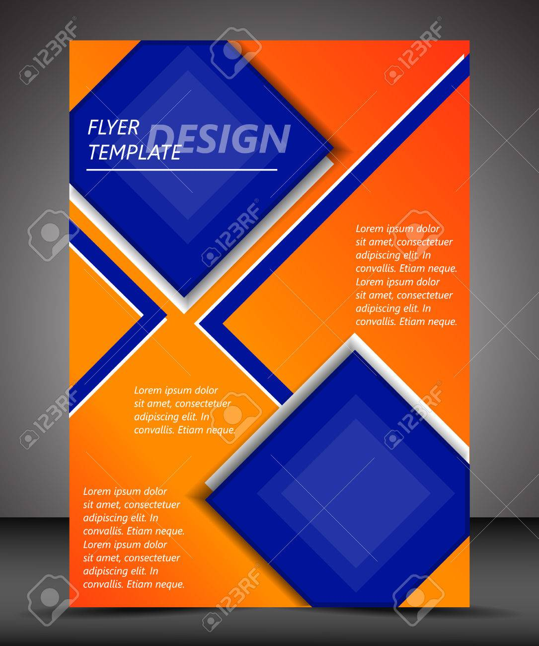 professional business flyer template or corporate banner royalty professional business flyer template or corporate banner stock vector 28498749