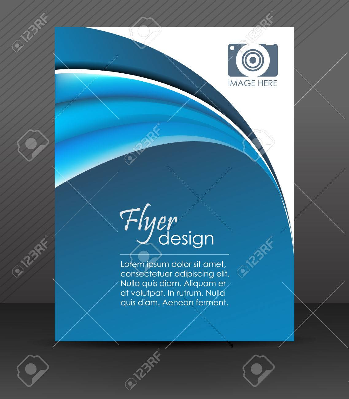 professional business flyer template brochure cover design professional business flyer template brochure cover design or corporate banner stock vector 32163317
