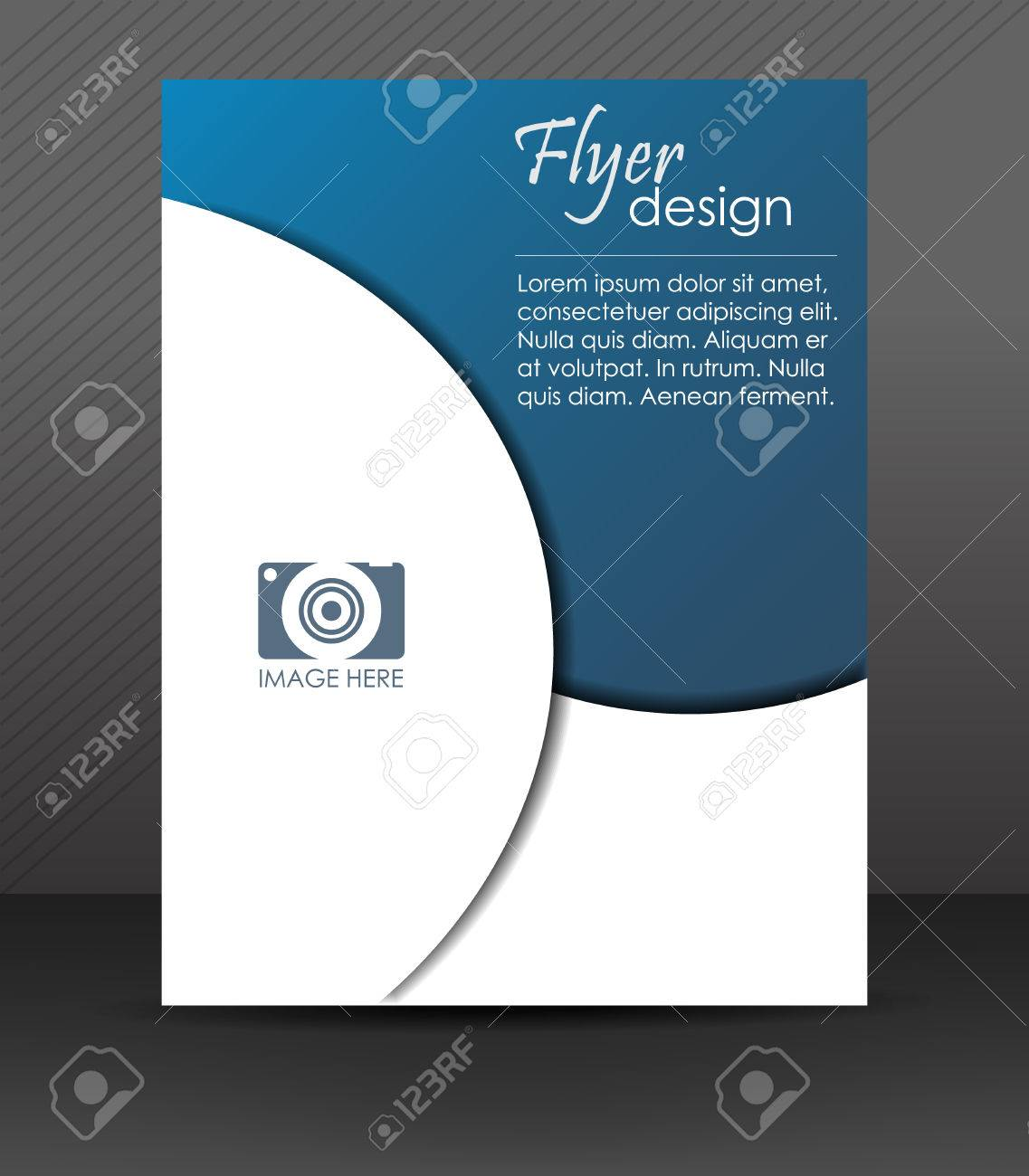 professional business flyer template brochure cover design professional business flyer template brochure cover design or corporate banner stock vector 32163418