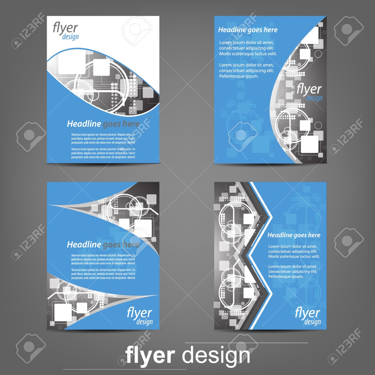 set of business flyer template corporate banner cover design set of business flyer template corporate banner cover design or brochure design