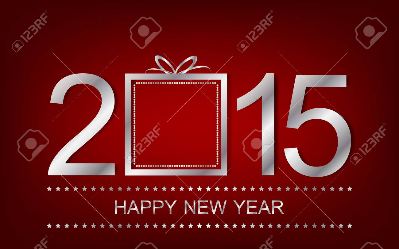 happy new year background wallpaper for banner or greeting card stock vector 33502229