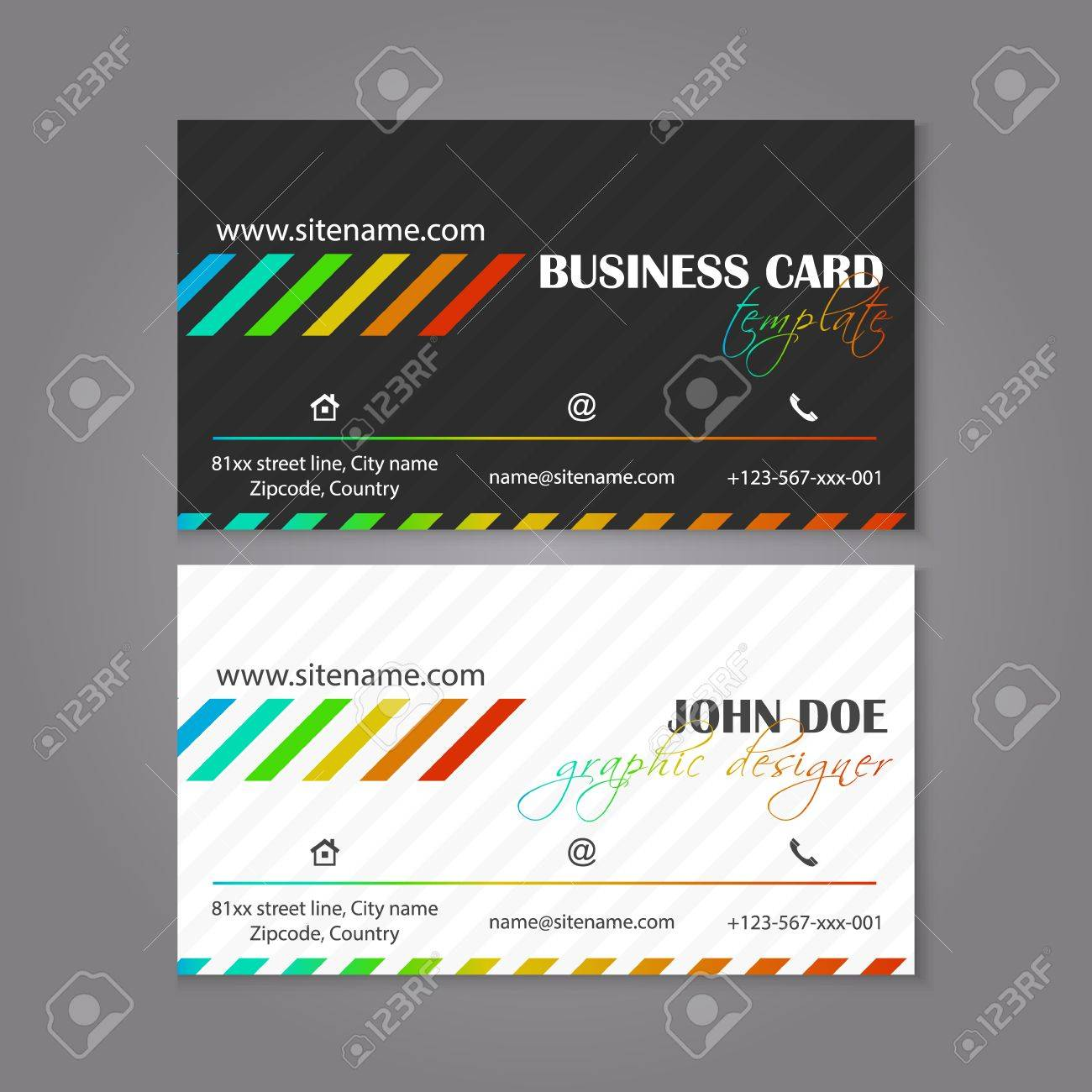 Corporate business card template the multiple layers are easy corporate business card template the multiple layers are easy to edit to alter text flashek Gallery
