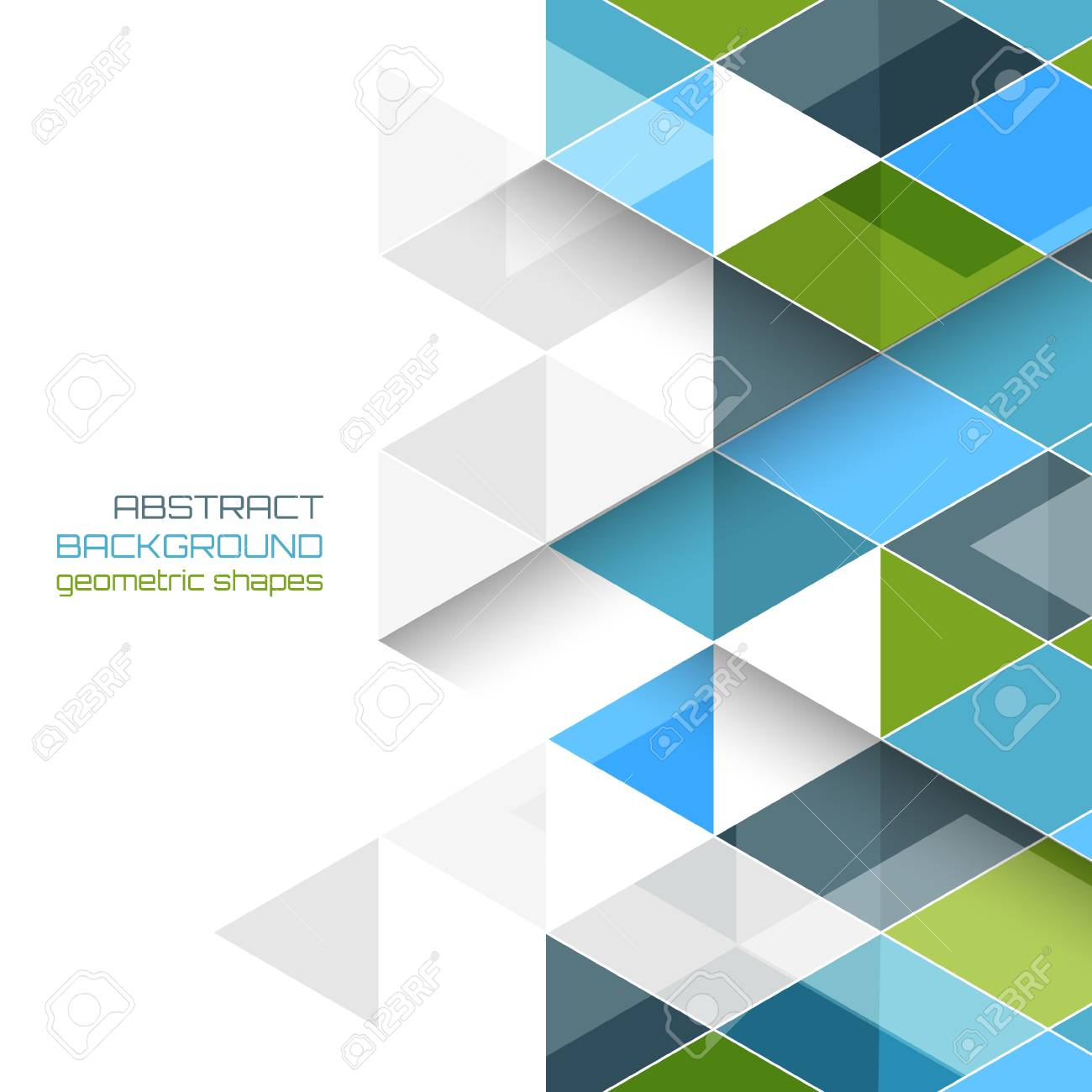 abstract vector background with geometric shapes. design with