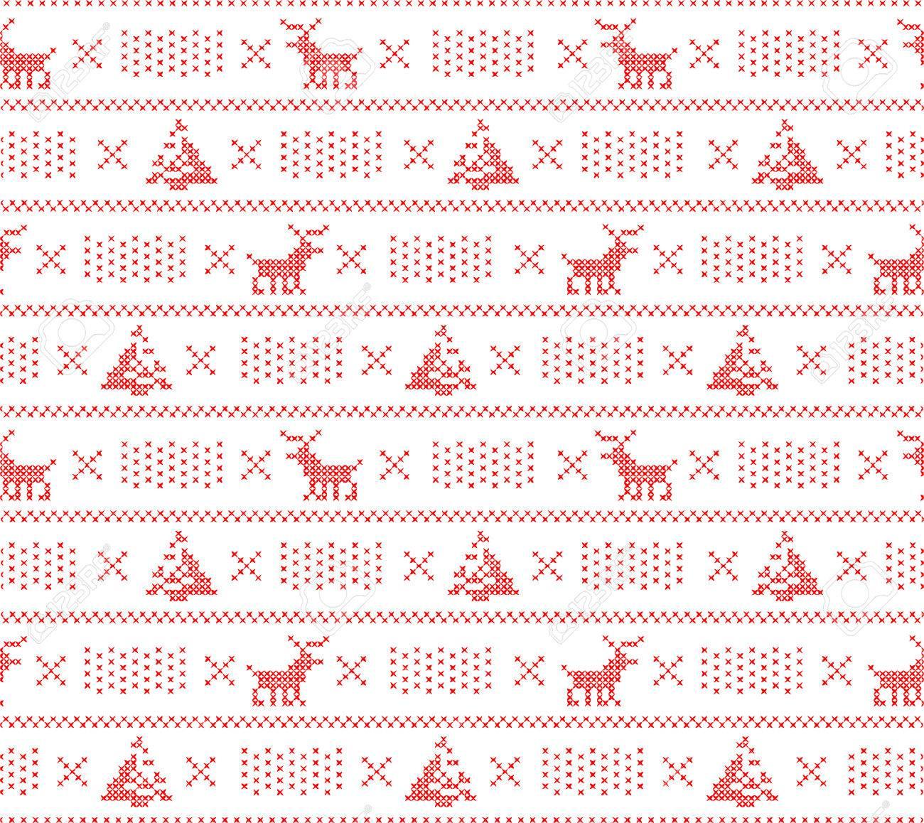 Tejer Fondo Suéter, Navidad Sin Patrón, Con Queridos, Los árboles Y ...