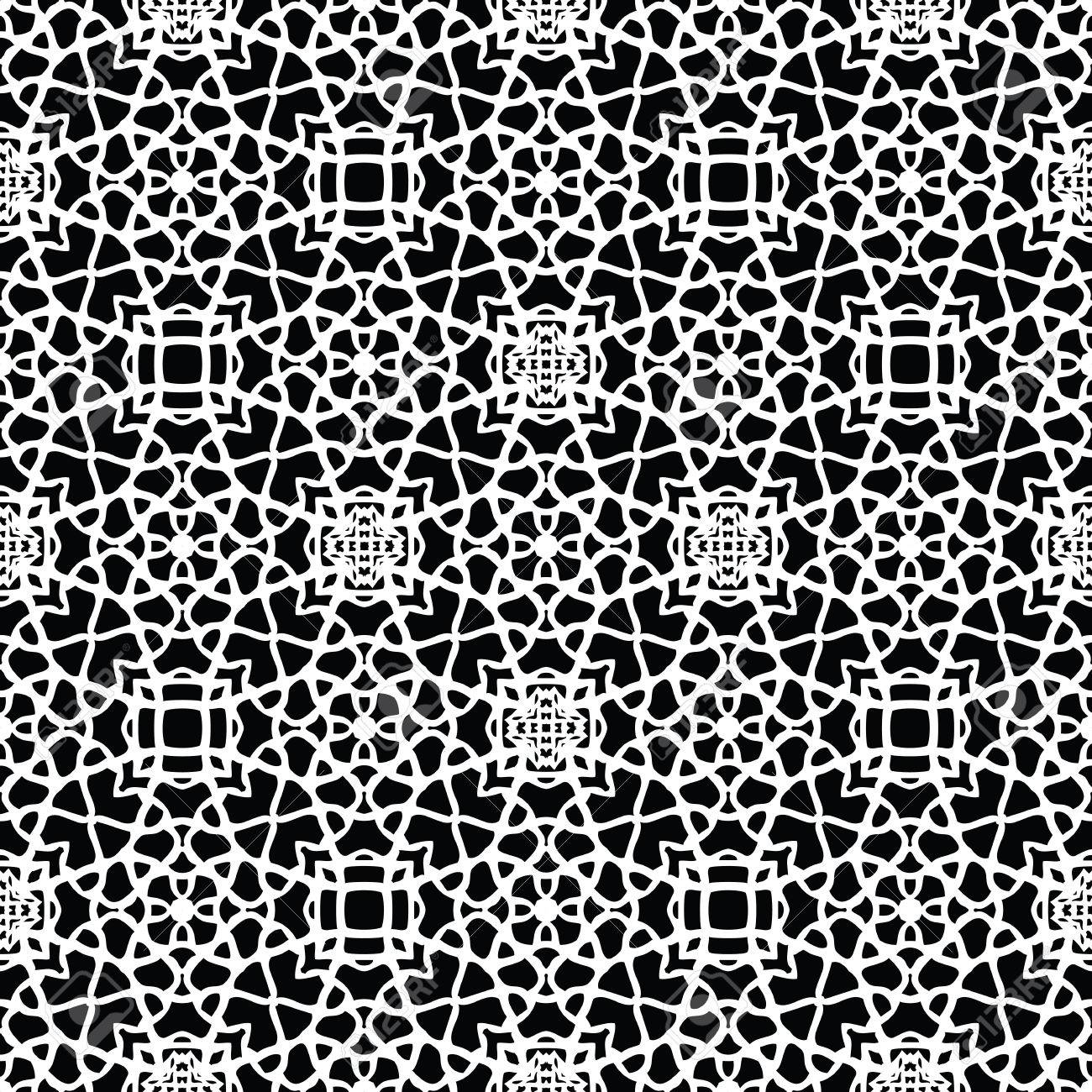 Seamless Doily Pattern For Wedding Invitation Vintage Abstract