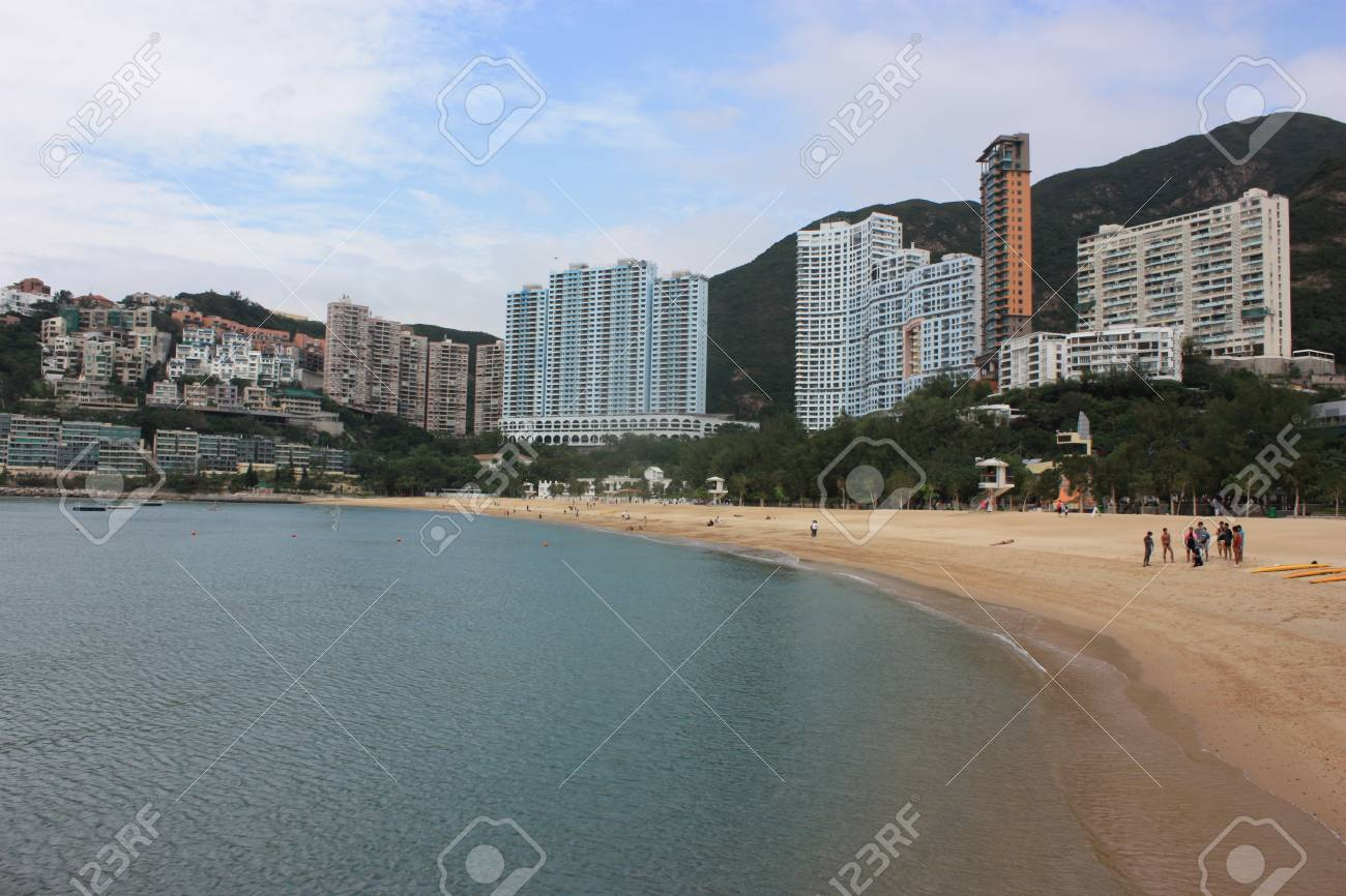 sea and beach of Hongkong Stock Photo - 7082213