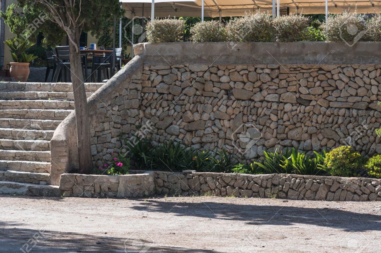 Muros Exteriores. Rsticas Cantabria Muros Hormign Estampado ...