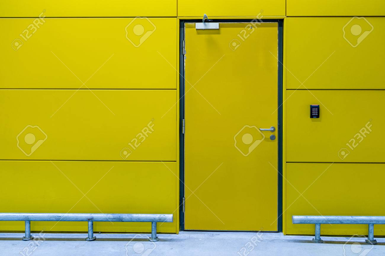Secured room with keypad. Stock Photo - 35532083 & Secured Room With Keypad. Stock Photo Picture And Royalty Free ... Pezcame.Com