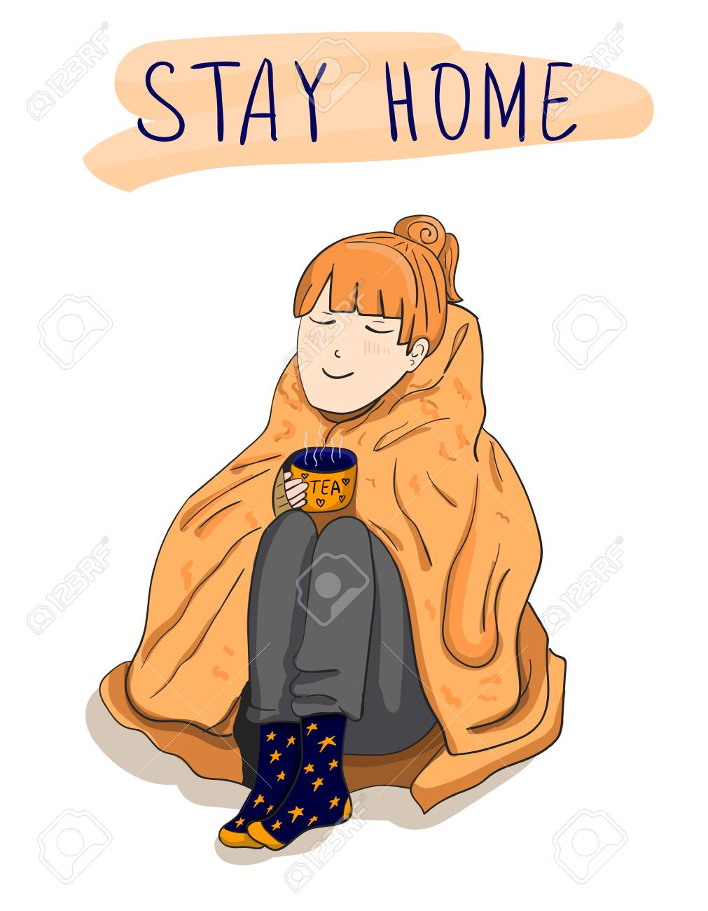 Stay At Home Clipart