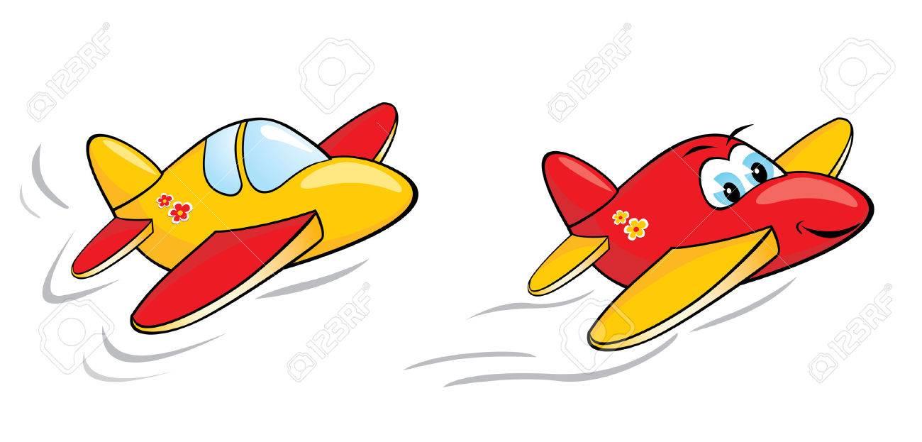 Plane Tickets Cartoon Plane Ticket Cartoon