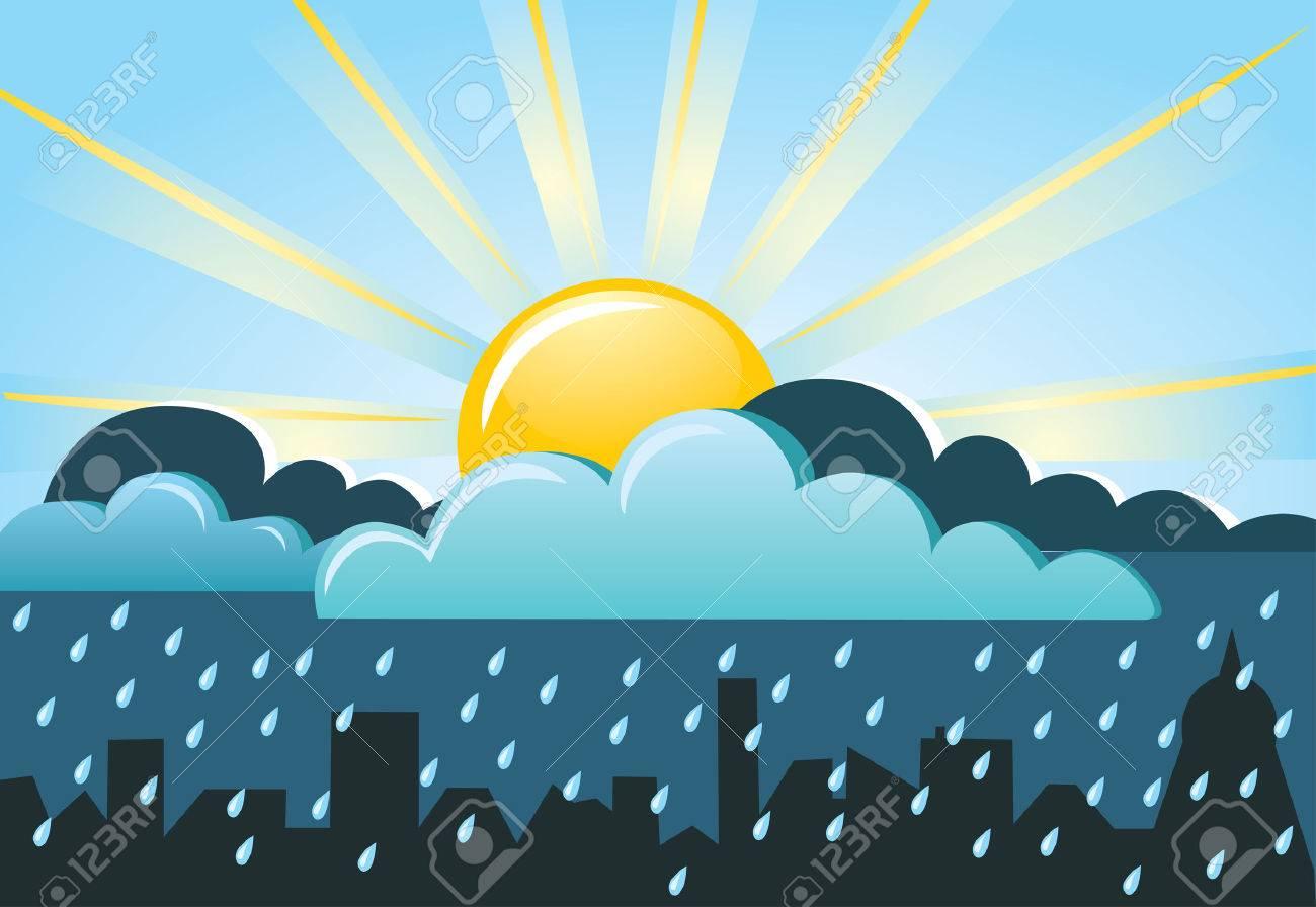 Resultado de imagen para sol y lluvia