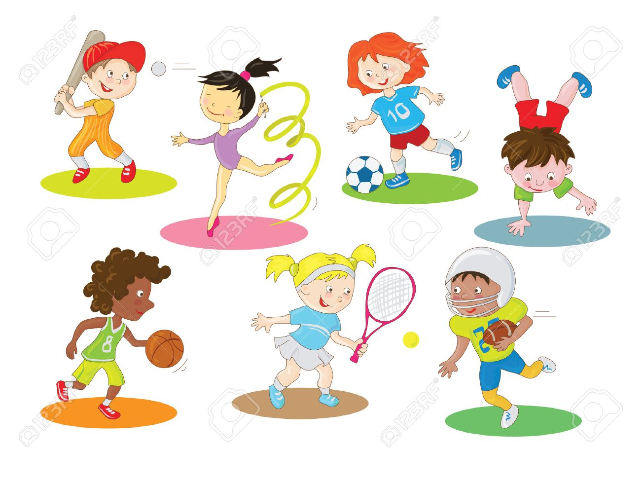 Image result for outdoor sports cartoon