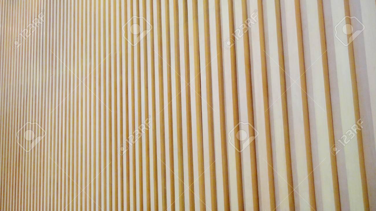 Deco Latte De Bois decoration of wood lath wall background