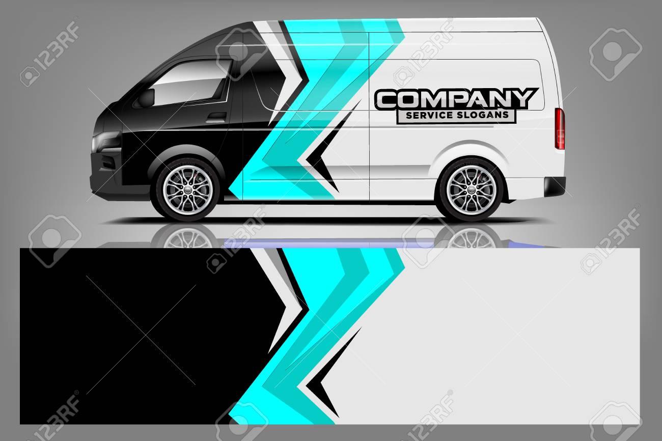 Van car Wrap design for company - 125675884