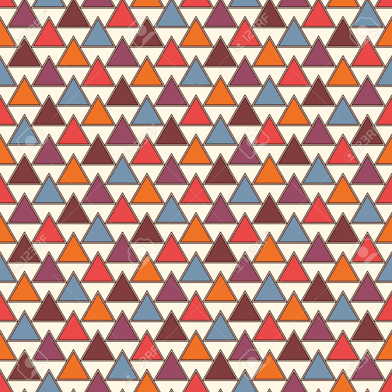 Repeated Triangles On White Background. Simple Abstract Wallpaper ... for Simple White And Red Wallpaper Designs  110zmd
