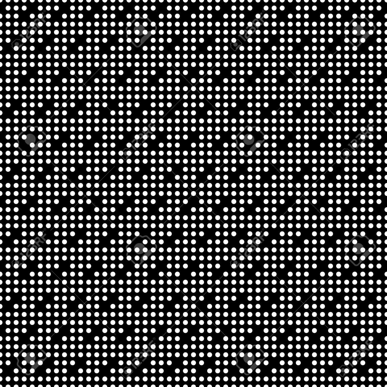 Seamless surface pattern with symmetric geometric ornament. Round spots texture. Circles abstract background. Polka dot motif. For digital paper, textile print, web design. Vector art illustration - 155841881