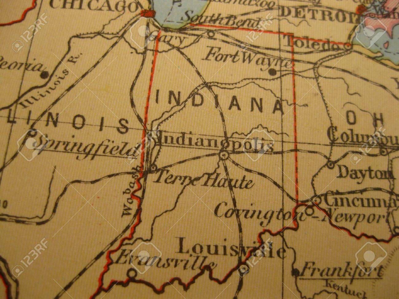 Where Is Indiana State Where Is Indiana Located In The US Map - Indiana state on us map