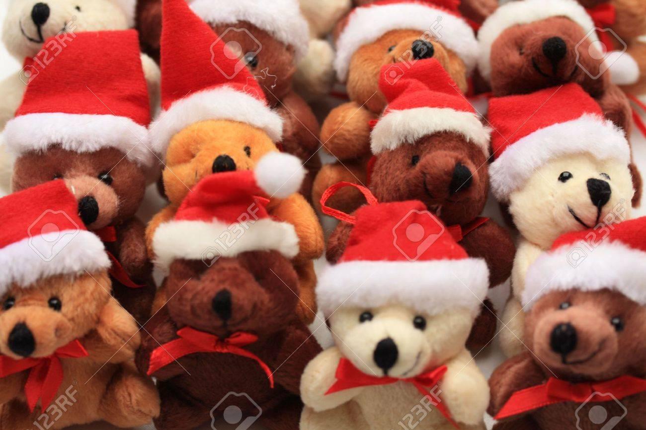 Group of christmas bears, Stock Photo - 5534987