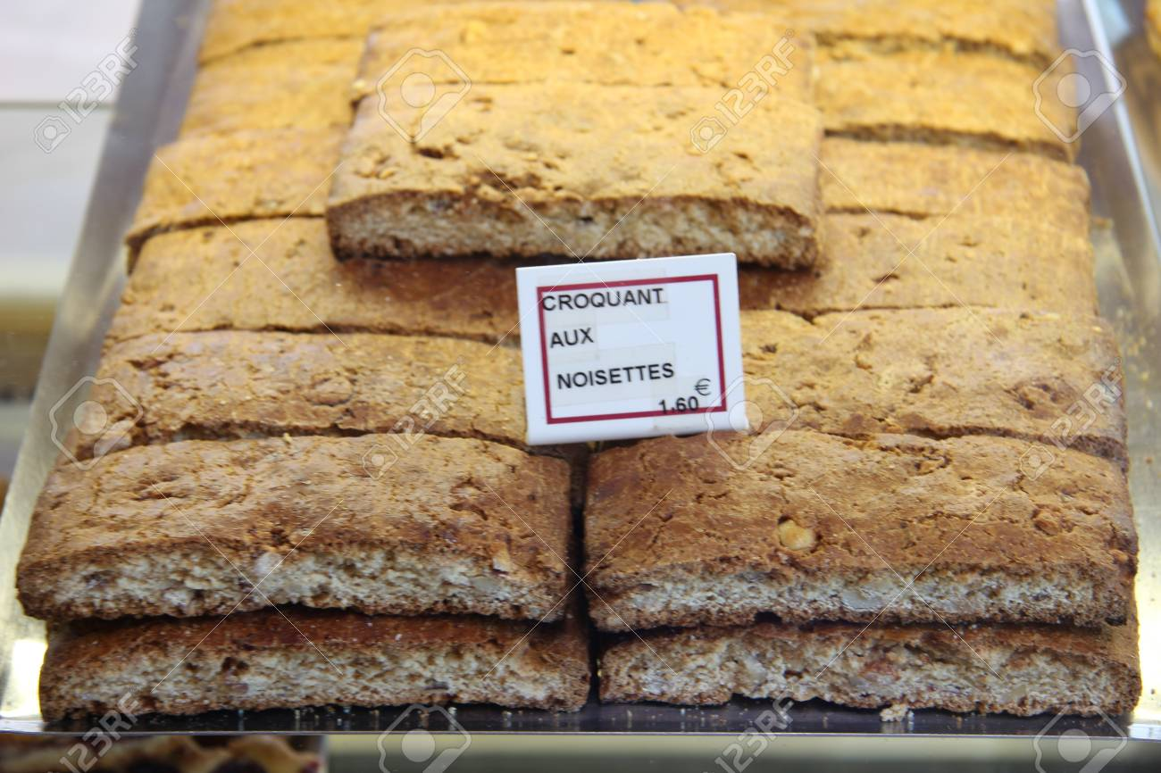 Luxury biscuits at a French market in the Provence Stock Photo - 16626991