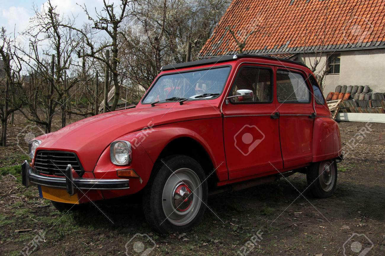 Vintage French car, luxury edition of iconic model Stock Photo - 23971175