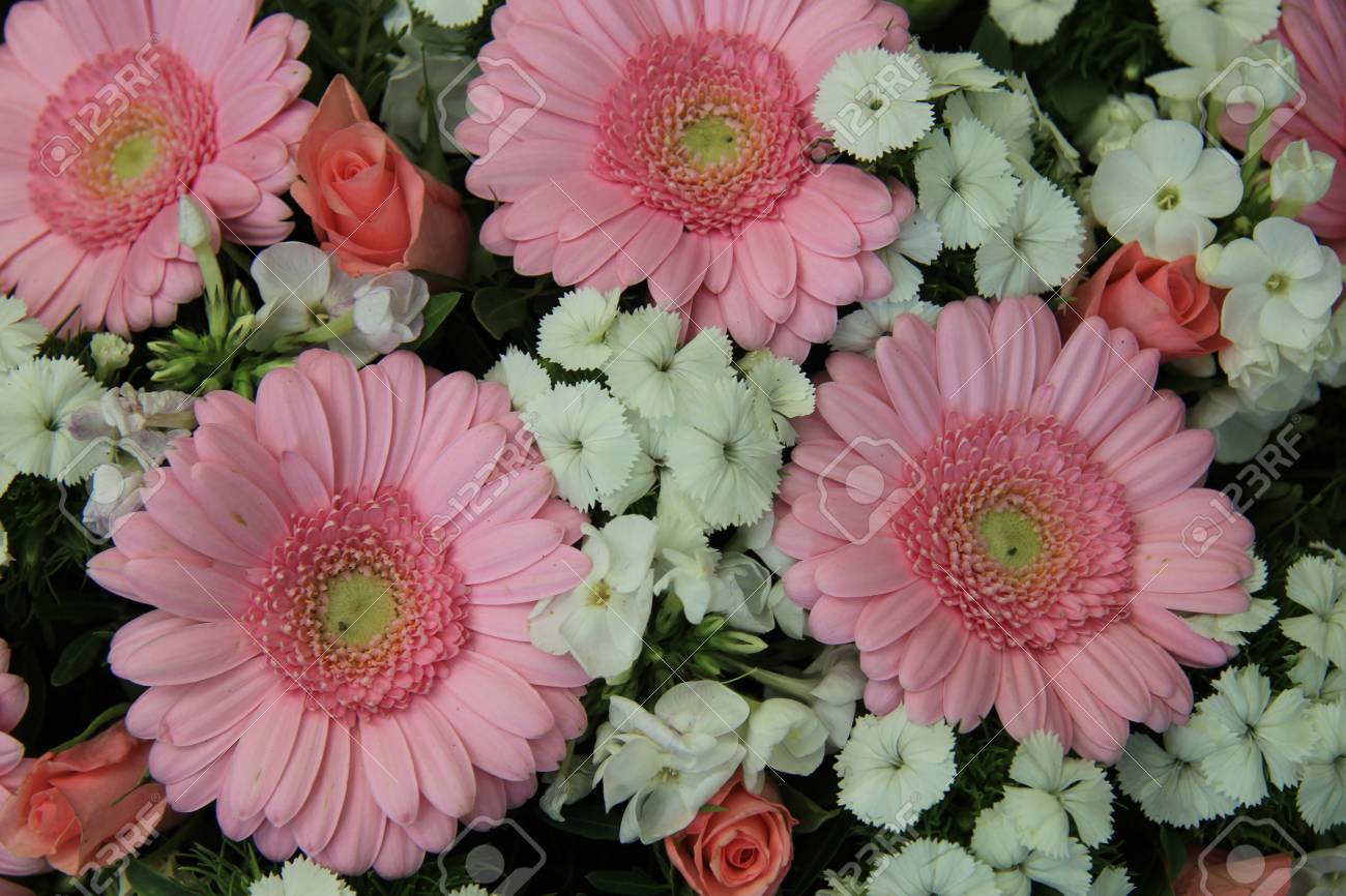 Mixed bridal flowers in various shades of pink stock photo picture mixed bridal flowers in various shades of pink stock photo 33649389 mightylinksfo