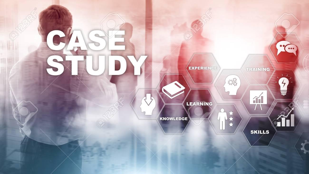 Case Study. Business, internet and tehcnology concept. - 116479990