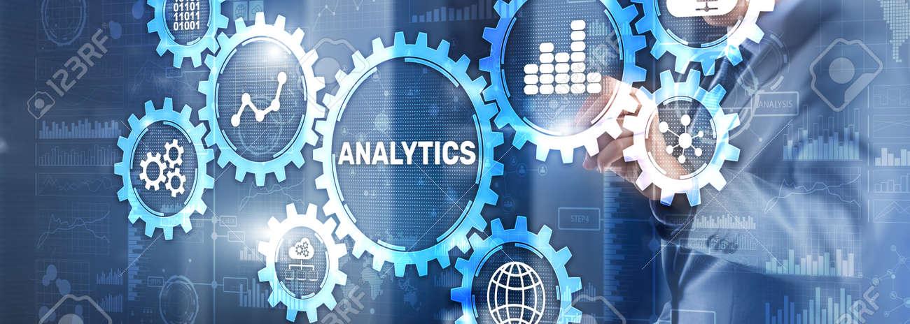 Analytics Data Analysis Strategy Statistic Concept - 169590367