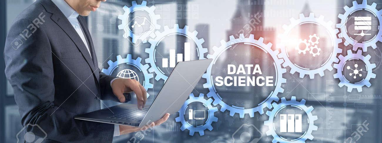Data science business analytics internet technology concept - 169591447