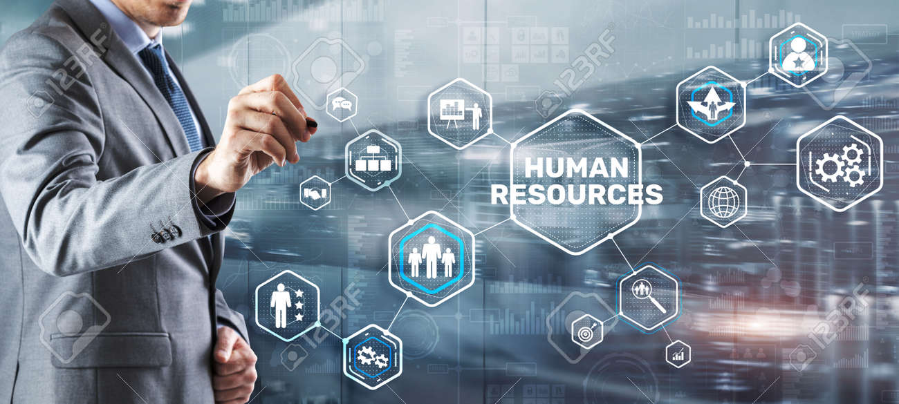Modern Human Resources Hiring Job Occupation Concept. Business Technology - 170221079