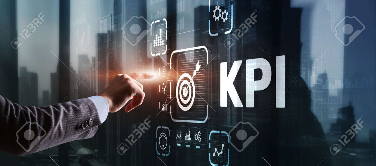 KPI Key Performance Indicator Business Internet Technology Concept on Virtual Screen - 170221054