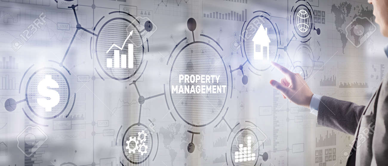 Property management. Maintenance and oversight of real estate and physical property - 171921630